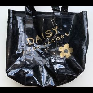 Daisy Marc Jacobs Black&Gold Tote Bag
